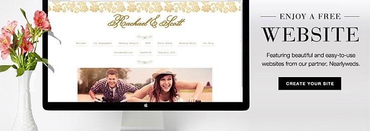 Wedding Website w/ Online RSVP: Wedding Paper Divas