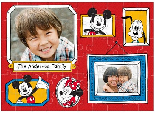 shutterfly disney puzzle