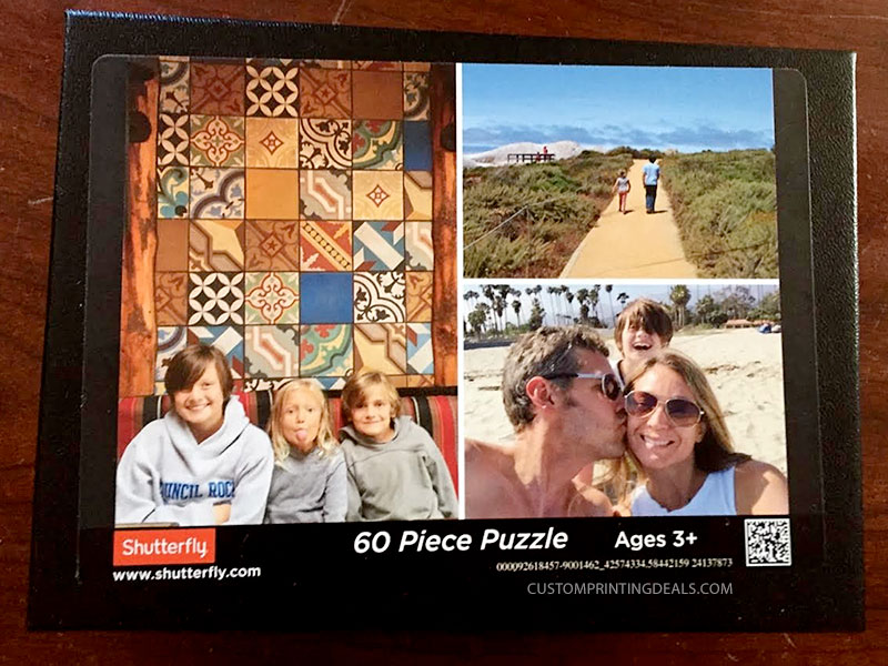 shutterfly puzzle box review