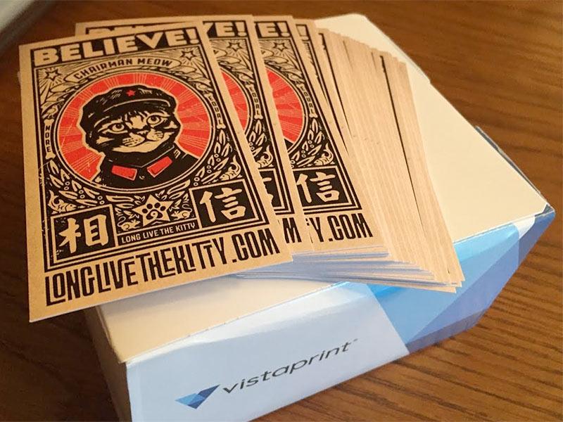 Free 100 Business Cards Vistaprint   Best Business Cards