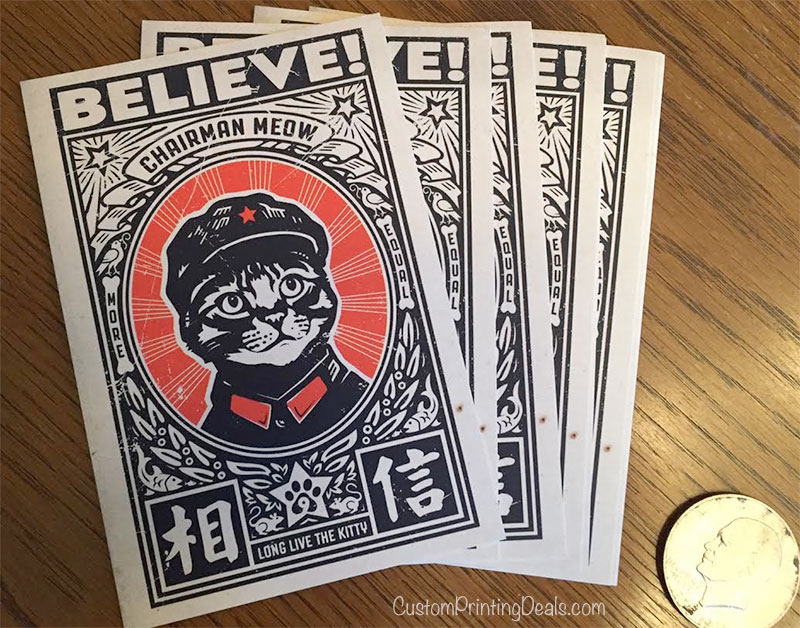 vistaprint postcards review