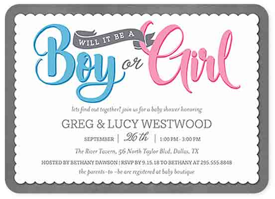 boy or girl reveal invitations_shutterfly