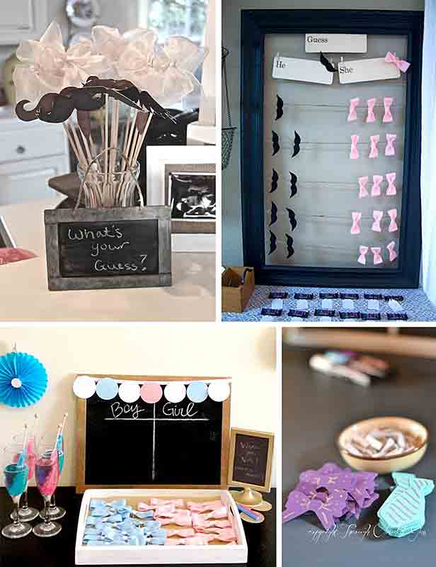 fun baby shower guess boy girl ideas