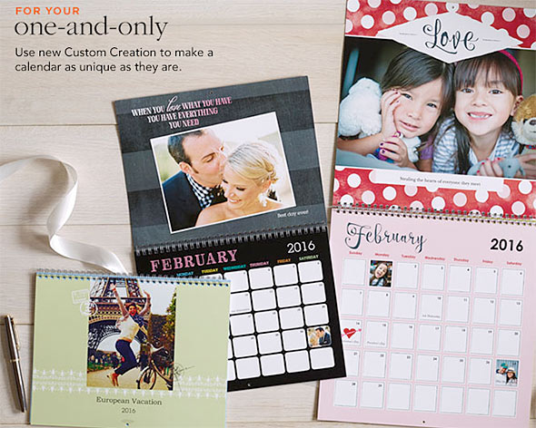 shutterfly calendars featured coupon