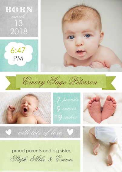 snapfish_birth announcement coupon