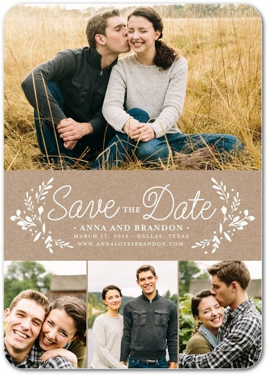 wedding save date sample design