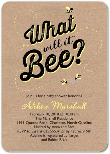 what will bee baby shower invitations tiny