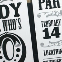 How to Print 40th Birthday Invitations for Men
