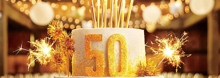 5 Creative Invitation & Gift Ideas for a Golden Anniversary