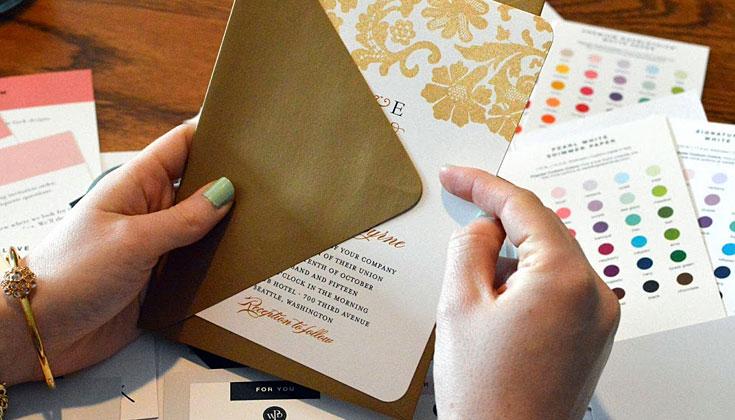 best wedding invite paper