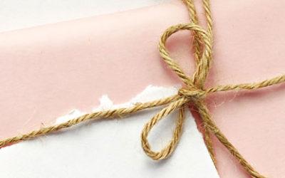 paper anniversary gift idea